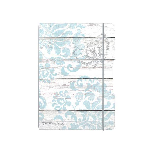 poznámkový blok flex, A5, 40 listů, čtvereček my.book, motiv Motýl