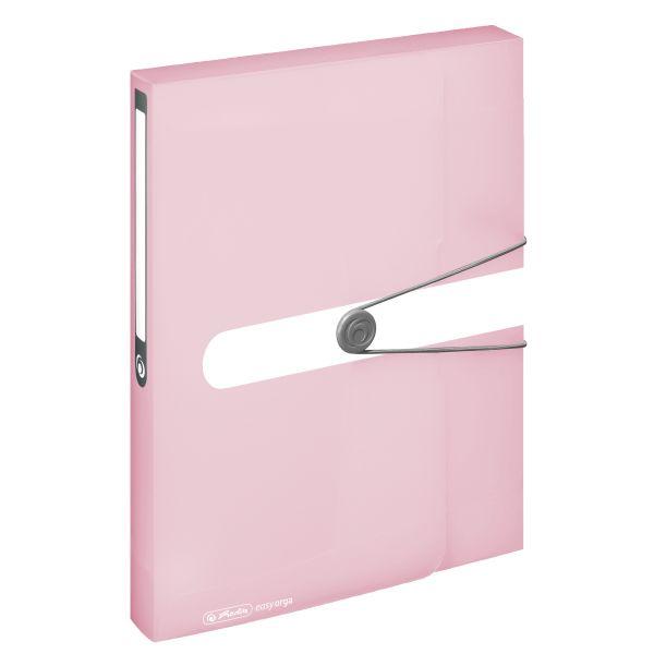 Box na spisy A4/4,PP rose