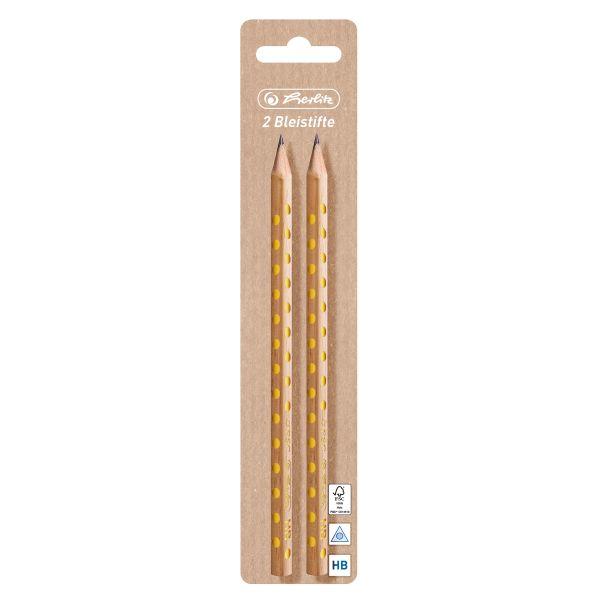2 tužky, stabilní nelámavá tuha, HB PURE GLAM