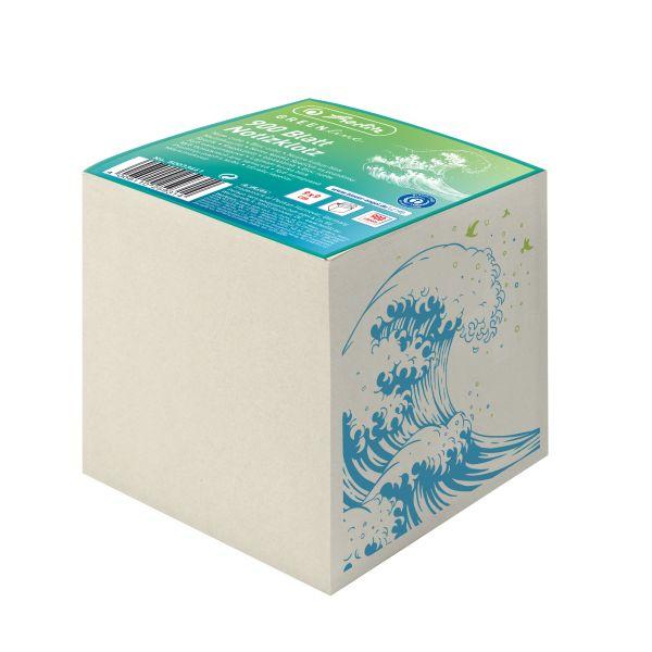 špalík 9x9x9 cm 900 lístků GREENline Vlna