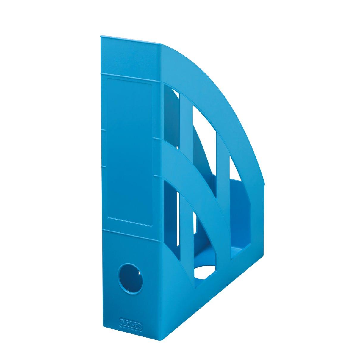 stojan na spisy A4 Herlitz recyklovatelný Blue Angel světle modrý