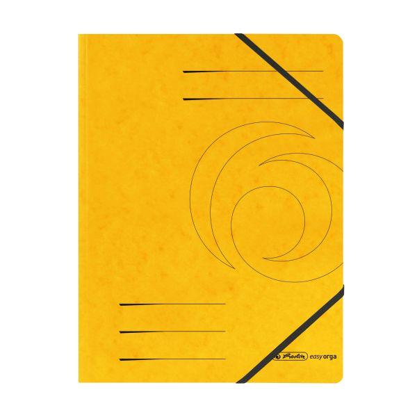 Eckspanner Quality A4 gelb