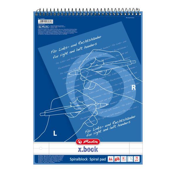 Beidhänderblock A4 80 Blatt Lineatur 27 für Links- und Rechtshänder 1 Motiv