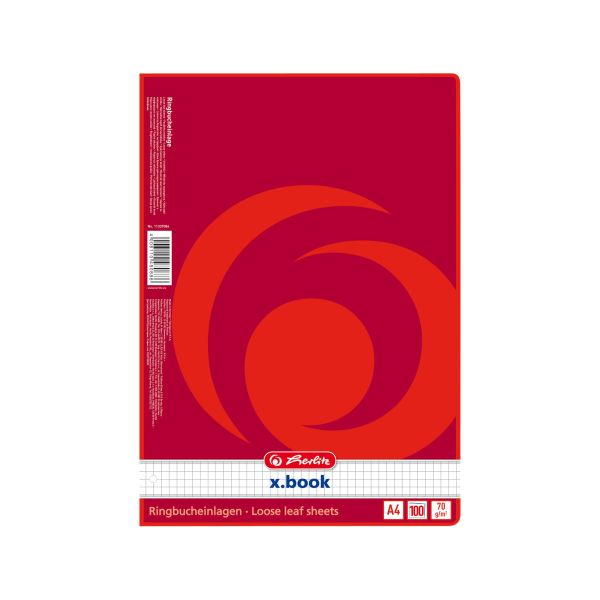 Ringbucheinlage A4 100 Blatt kariert