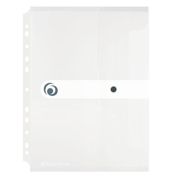 Dokumententasche PP A4 zum Abheften transparent farblos
