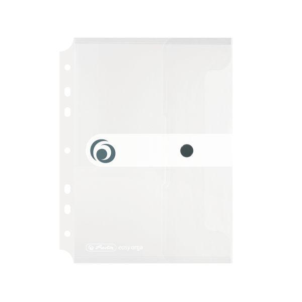 Dokumententasche PP A5 zum Abheften transparent farblos