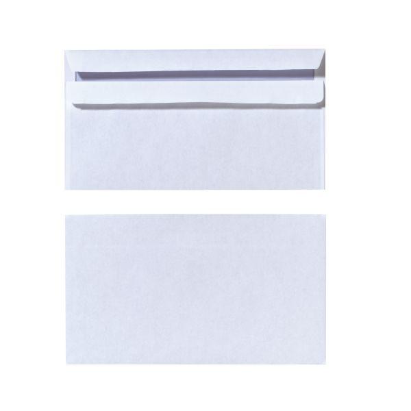 Briefumschlag DL selbstklebend weiß 1000er Karton