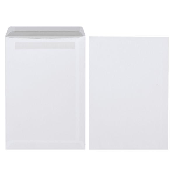 Versandtasche C5 selbstklebend weiß 90g 500er Karton
