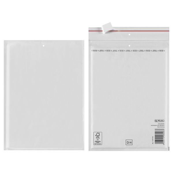 Luftpolstertasche D 20x27 cm haftklebend weiß FSC Mix