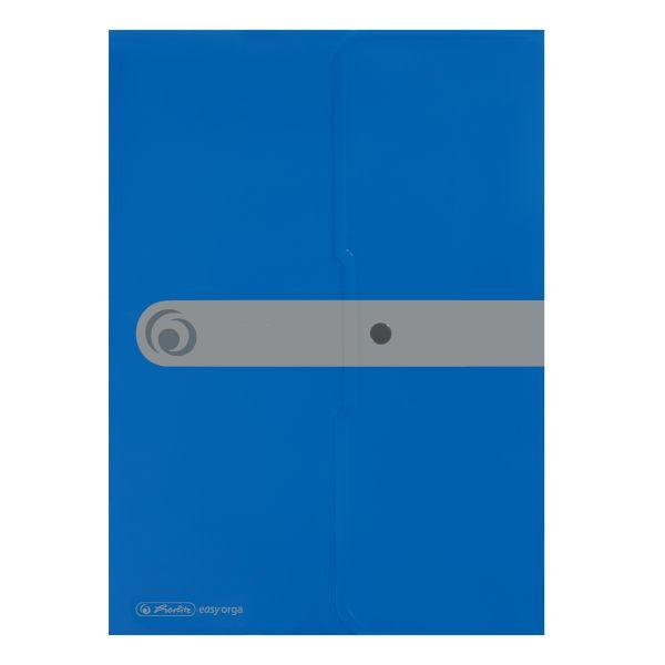 Dokumententasche PP A4 opak blau