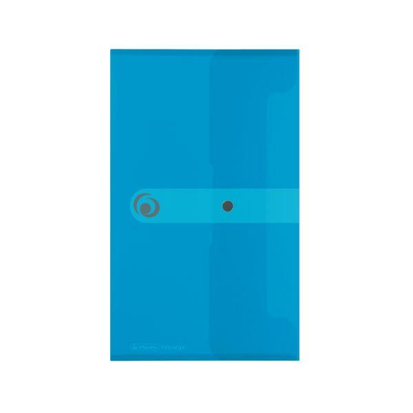 Dokumententasche PP DL transparent blau