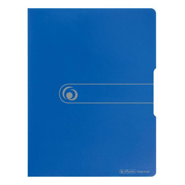 Sichtbuch PP A4 20 Hüllen opak blau