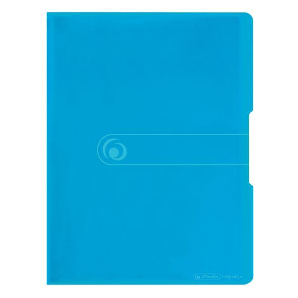 Sichtbuch PP A4 20 Hüllen transparent blau