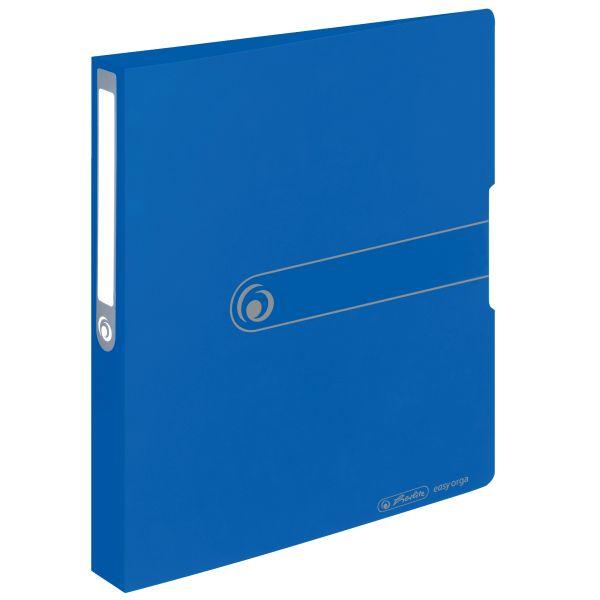 Ringbuch PP A4 2 Ringe 25mm opak blau