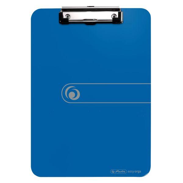Klemmbrett Polystyrol A4 opak blau