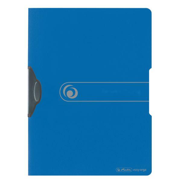 Express-Clip A4 PP opak blau