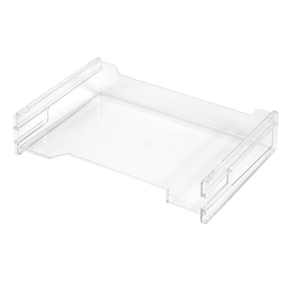 Ablagekorb A4 quer transparent
