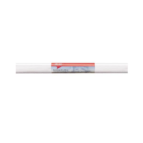 Bastelkrepp 50x250 cm weiß