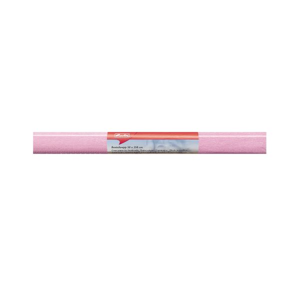 Bastelkrepp 50x250 cm rosa