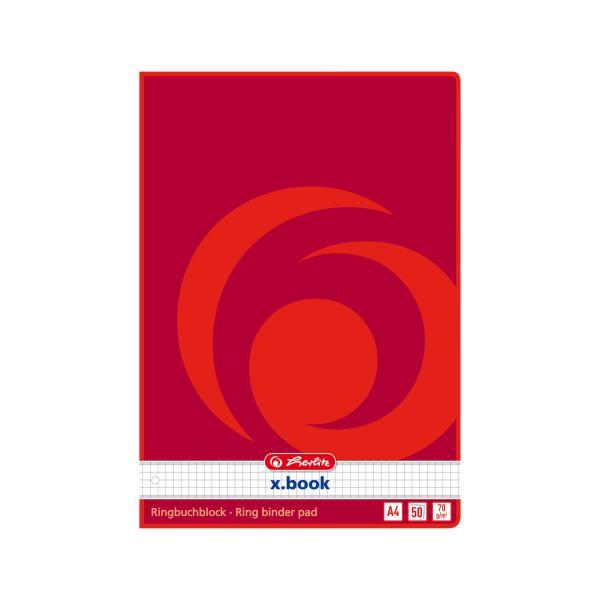 Ringbuchblock A4 50 Blatt kariert