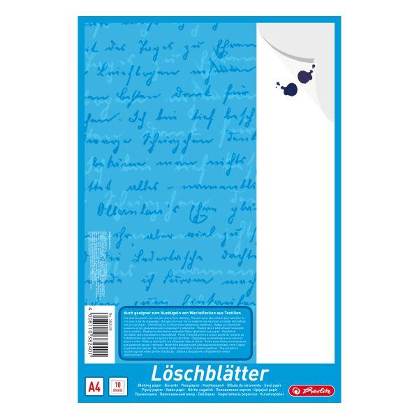 Löschblattblock A4 10 Blatt weiß