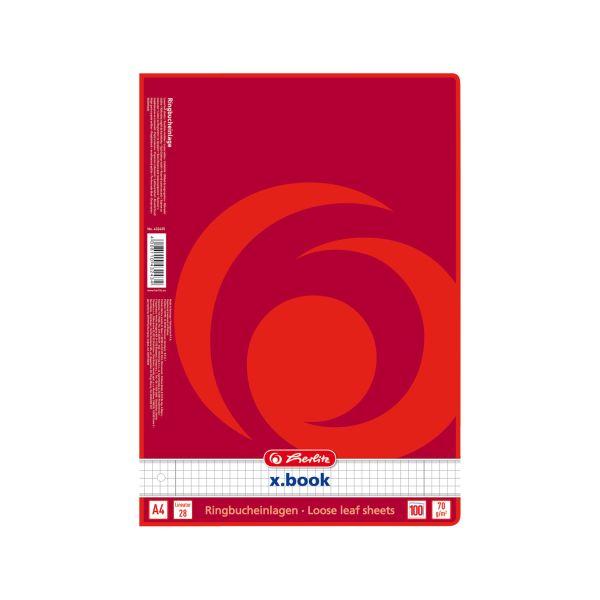 Ringbucheinlage A4 100 Blatt Lineatur 28