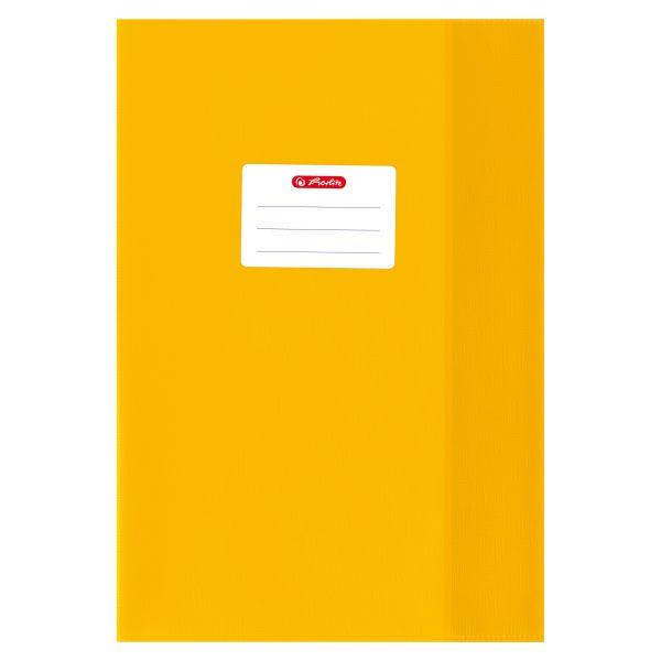Hefthülle A4 Baststruktur gelb