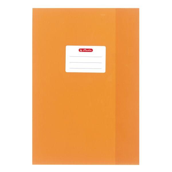 Hefthülle A4 Baststruktur orange
