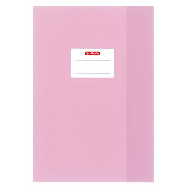 Hefthülle A4 Baststruktur rosa