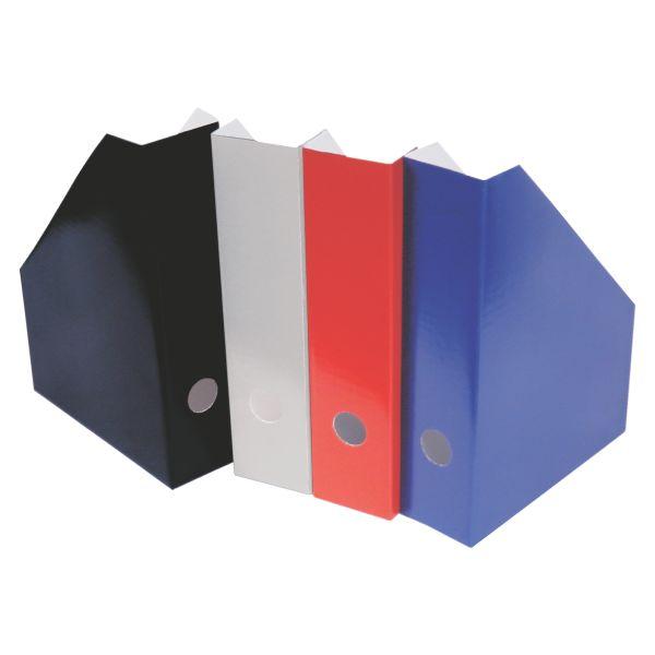 Stehsammler A4 farbig sortiert LW Wellpappe Rückenbreite 7cm