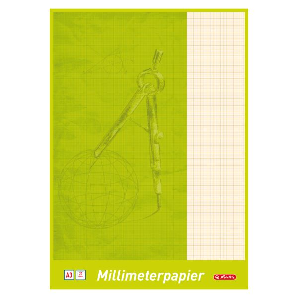 Millimeterblock A3 20 Blatt