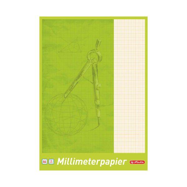 Millimeterblock A4 25 Blatt
