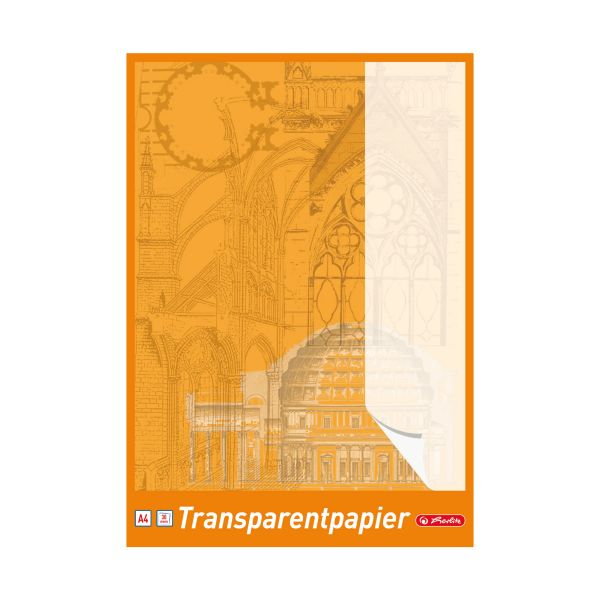 Transparentpapierblock A4 30 Blatt