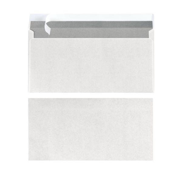 Briefumschlag DL haftklebend weiß 100er Packung FSC Mix