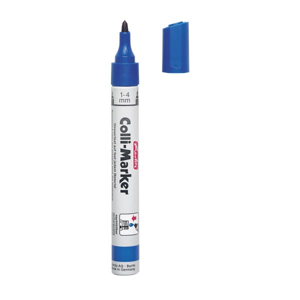 Colli Marker 1-4mm, blau, lose Ware Colli Marker 1-4mm, blau, lose Ware