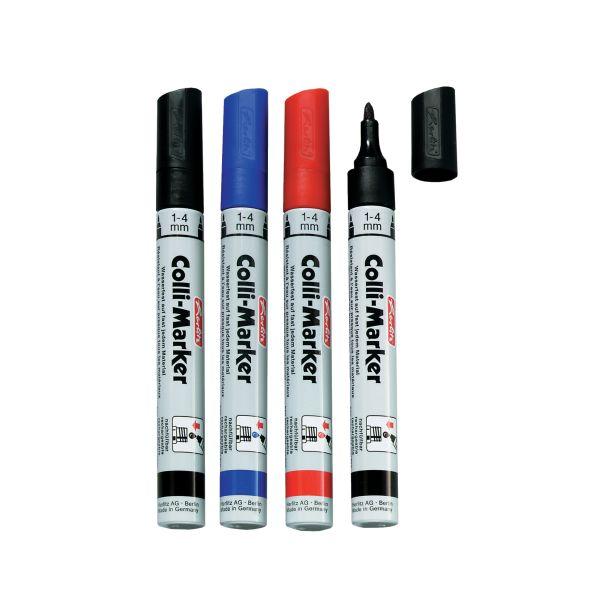 Colli Marker 1-4 mm farbig sortiert 5 Stück in Faltschachtel