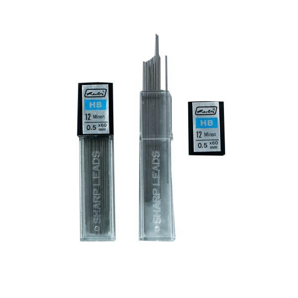 Druckbleistiftmine HB 0,5 mm 24 Stück