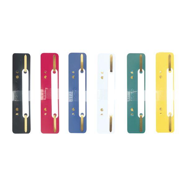 Heftstreifen Polypropylen farbig sortiert 150 Stück