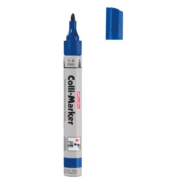 Colli Marker 1-4 mm blau 10 Stück in Faltschachtel