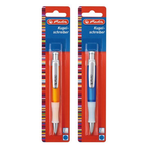 Kugelschreiber Grip farbig sortiert