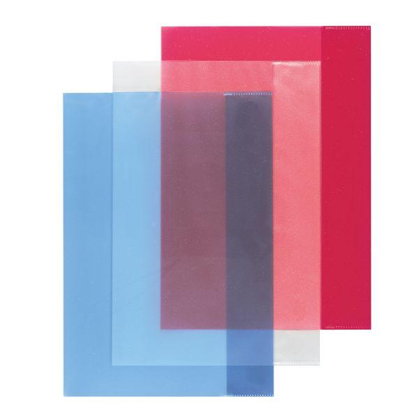 Hefthülle A4 farbig transparent sortiert 3er Packung