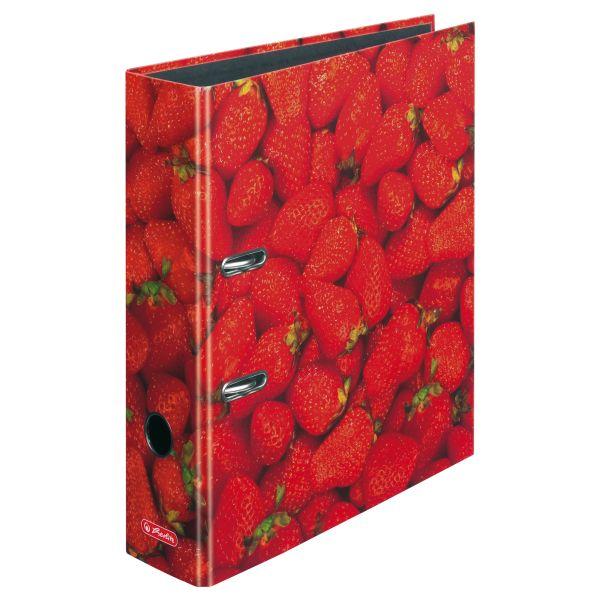 Ordner maX.file A4 8cm Erdbeeren