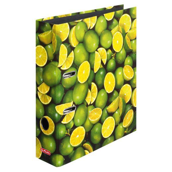 Ordner maX.file A4 8cm Lemon