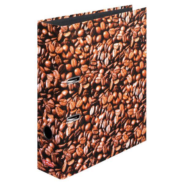 Ordner maX.file A4 8cm Kaffee