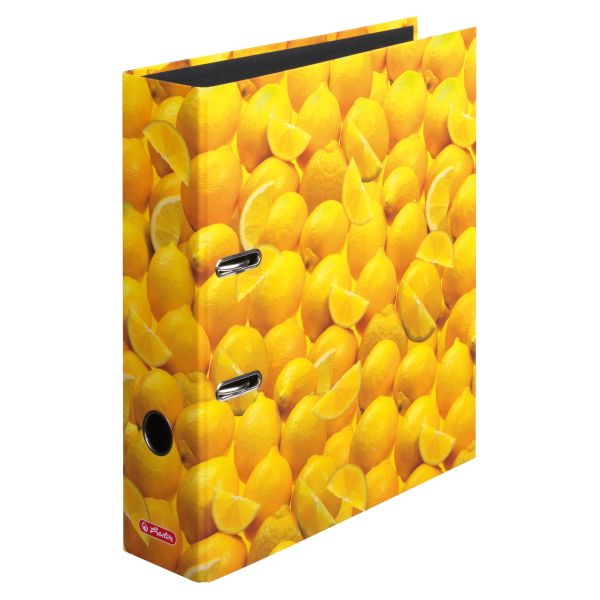 Ordner maX.file A4 8cm Zitronen