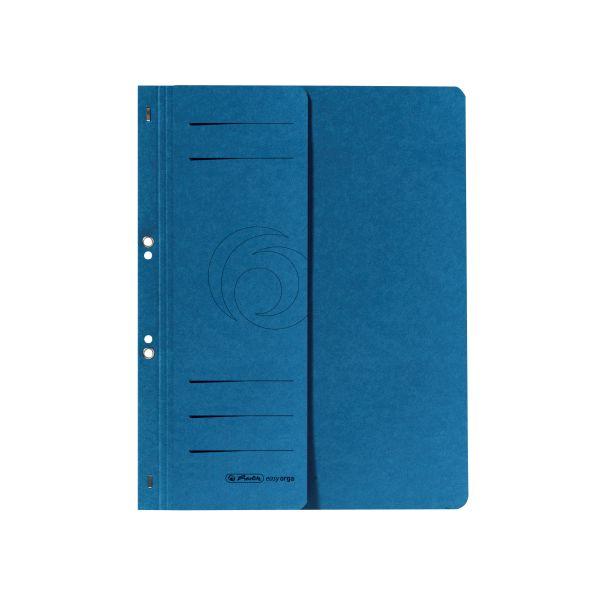Ösenhefter A4 1/2-Vorderdeckel kaufmännische Heftung blau