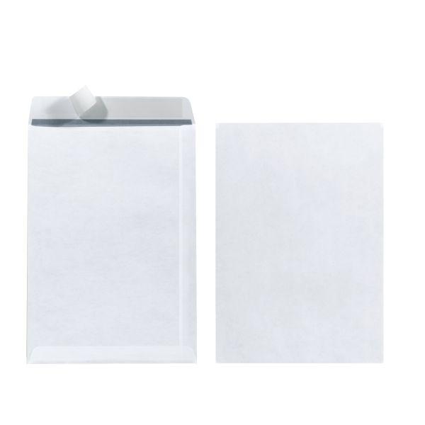 Versandtasche C5 90g haftklebend weiß 25er Packung FSC Mix