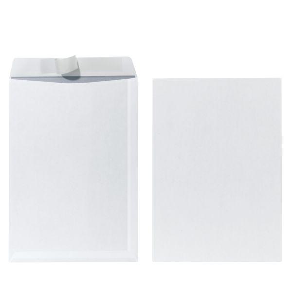 Versandtasche C4 90g haftklebend weiß 25er Packung FSC Mix