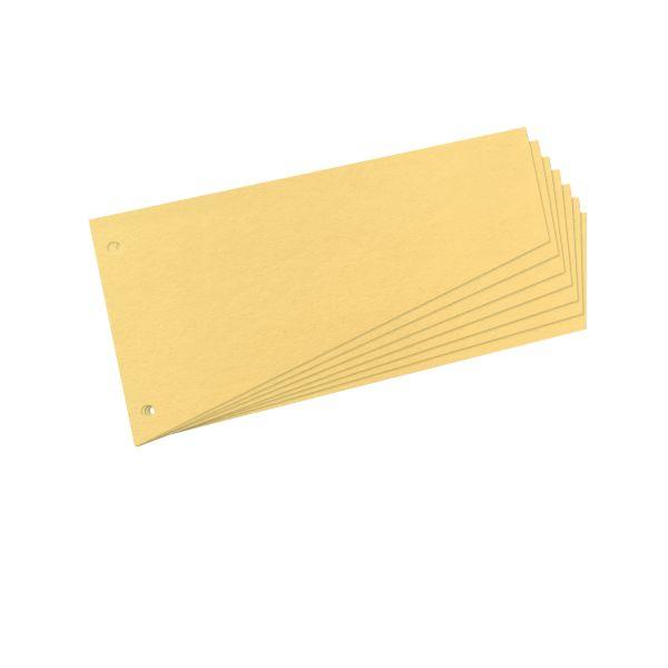 Trennstreifen Trapez gelb 100er