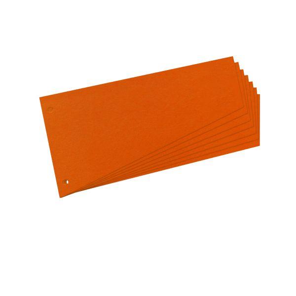 Trennstreifen Trapez orange 100er